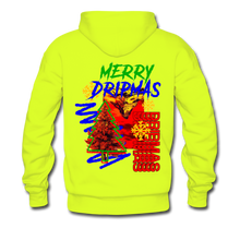 Load image into Gallery viewer, Merry Dripmas - Unisex Hoodie - safety green