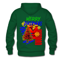 Load image into Gallery viewer, Merry Dripmas - Unisex Hoodie - forest green