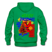 Load image into Gallery viewer, Merry Dripmas - Unisex Hoodie - kelly green
