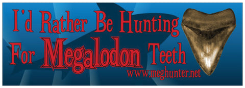 Bumper Stickers - I'd Rather Be Hunting