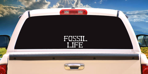 Decals - Fossil Life
