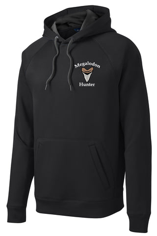 Megalodon Hunter Embroidered Hoodie