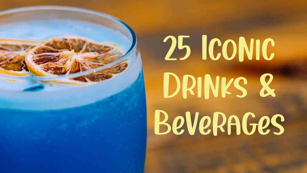 25 Iconic Drinks and Beverages from Books, Movies and TV Shows