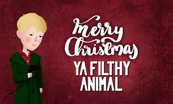"""Kevin McCallister next to """"Merry Christmas Ya Filthy Animal"""" text"""