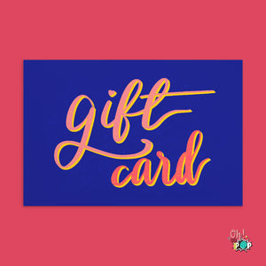 Oh! So Personal Gift Card