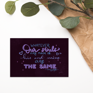 Printable Valentine's Day Quote Cards Set (Digital)