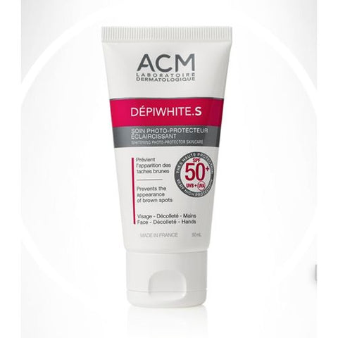 ACM Dépiwhite.S Whitening Photo-Protector Skincare SPF 50+ - 50ml