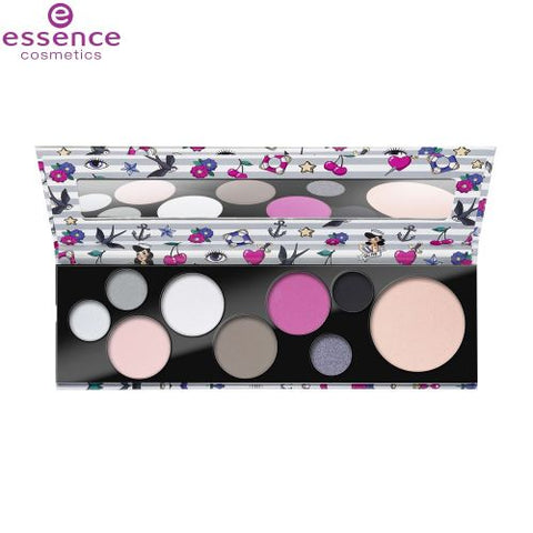 Essence Not Your Princess Eye And Face Palette - 9 Shades - 11g