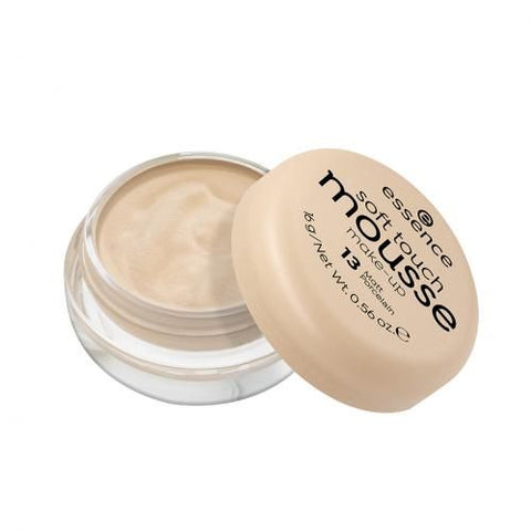 Essence Soft Touch Mousse - Make UP - 13Matt Porcelain - 16g