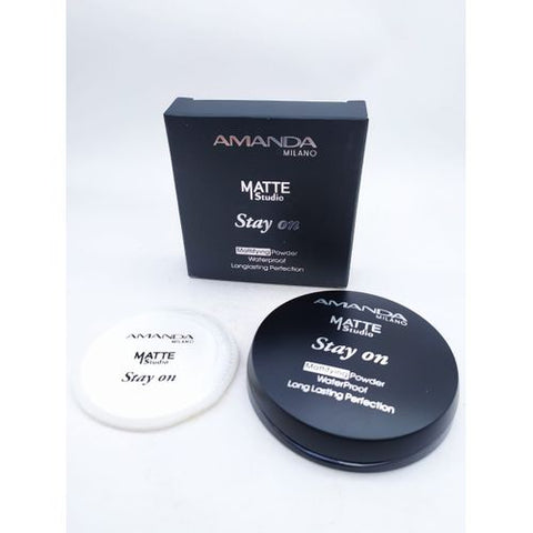 Amanda Matte Studio - Stay On Mattifying Powder - No.:01