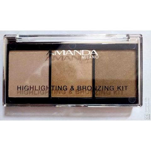 Amanda HIGHLIGHTING & BRONZING - THE METALLIC