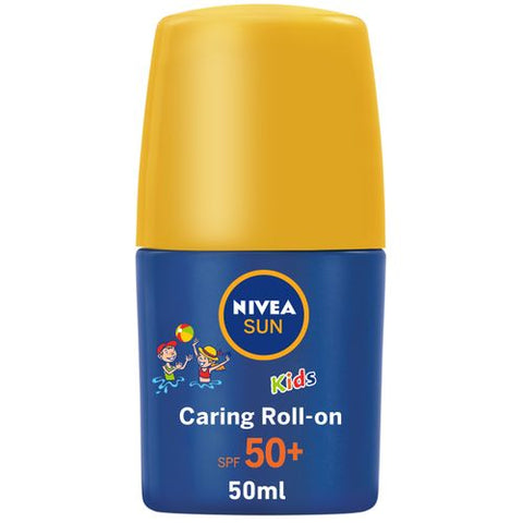 Nivea SUN Kids Protect & Care Water Resistant Sun Caring Roll-On - SPF 50+ - 50ml