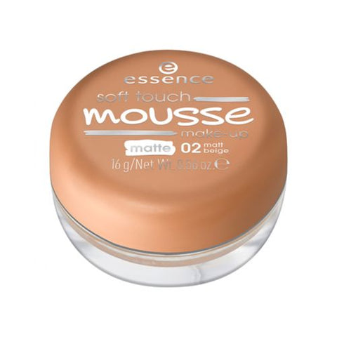 Essence Soft Touch Mousse Foundation - 02 Matt Beige