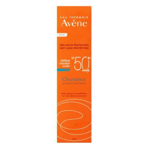 Avene Very High Protection Cleanance Sunscreen For Acne Prone Skin SPF50+ 50 Ml