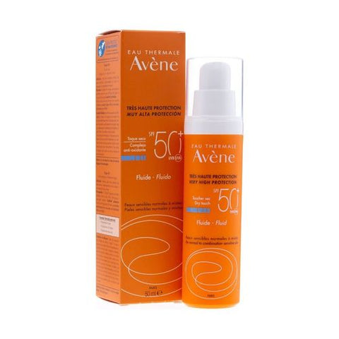 Avene Very High Protection Fluid Dry Touch SPF50+ - 50 Ml