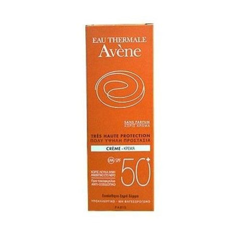 Avene Very High Protection Cream - SPF50+ - 50 Ml