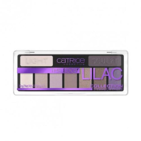 Catrice The Edgy Lilac Coll Eyeshadow Palette - 010 Purple -10g