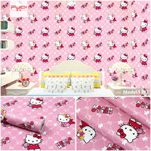 Load image into Gallery viewer, DIY PVC Girl heart room layout pink wallpaper self-adhesive bedroom girl warm college student dormitory wallpaper self-adhesive