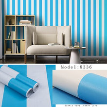 Load image into Gallery viewer, PVC Pure color self-adhesive wallpaper bedroom PVC waterproof wallpaper new wall stickers instant stickers student dormitory