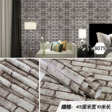 Load image into Gallery viewer, PVC Wooden door renovation self-adhesive bedroom dormitory cabinet desk decoration wallpaper creative waterproof home