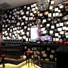 Load image into Gallery viewer, 5D space cool wallpaper personality fashion flash KTV bar hotel fancy dance hall box theme room walls ceiling PVC wallpaper