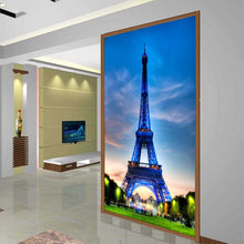 Load image into Gallery viewer, Customized Paris Eiffel Tower European large murals non-woven wallpaper TV sofa background wall hotel office photo wallpaper