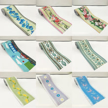 Load image into Gallery viewer, Cartoon children's living room bedroom kitchen bathroom baseboard tile waist line brick stickers PVC self-adhesive wallpapers
