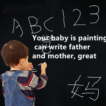 Load image into Gallery viewer, 10m*90cm office blackboard stickers rewritable remove children graffiti teaching students baby wall stickers green whiteboard