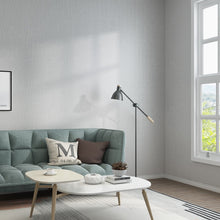 Load image into Gallery viewer, New Solid Modern minimalist white plain bedroom living room non-woven grey home wall papers light gray linen Nordic wallpaper