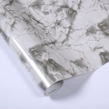 Load image into Gallery viewer, Thick marble pattern refurbished stickers pvc self-adhesive wallpapers wall paper waterproof wall stickers countertop cabinet