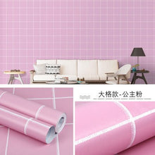 Load image into Gallery viewer, DIY PVC cartoon self-adhesive wallpaper living room bedroom TV back children room boy girl waterproof wall stickers wallpapers