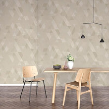 Load image into Gallery viewer, High quality nordic wallpaper modern minimalist geometric lattice home non-woven living room bedroom background wall gray black