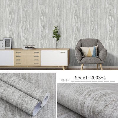 PVC Pure color self-adhesive wallpaper bedroom PVC waterproof wallpaper new wall stickers instant stickers student dormitory