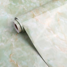 Load image into Gallery viewer, PVC Imitation marble sticker wall paper wallpaper self-adhesive cabinet kitchen wall furniture renovation waterproof