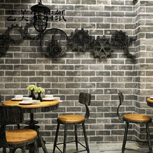 Load image into Gallery viewer, Retro 3D stereo imitation brick pattern brick thickened waterproof wallpaper restaurant hotel wallpaper self-adhesive