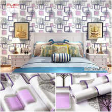 Load image into Gallery viewer, Home Decoration PVC Wallpaper Self Adhesive European Flowers Bedroom Furniture Refurbishment Waterproof Pastoral Style Dormitory
