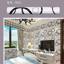 Load image into Gallery viewer, 10m*45cm children Korean PVC Wallpaper Self Adhesive Waterproof Wall Sticker Creeper Bedroom Warm European Flowers Brick pattern