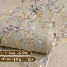 Load image into Gallery viewer, High quality European Damascus wall paper 3D luxury luxury living room bedroom home background non-woven home decor wallpaper