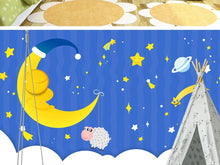 Load image into Gallery viewer, Custom large mural 3D wallpaper Cartoon fantasy child star sleeping moon cloud bedroom mural TV back wall decor deep 5D embossed