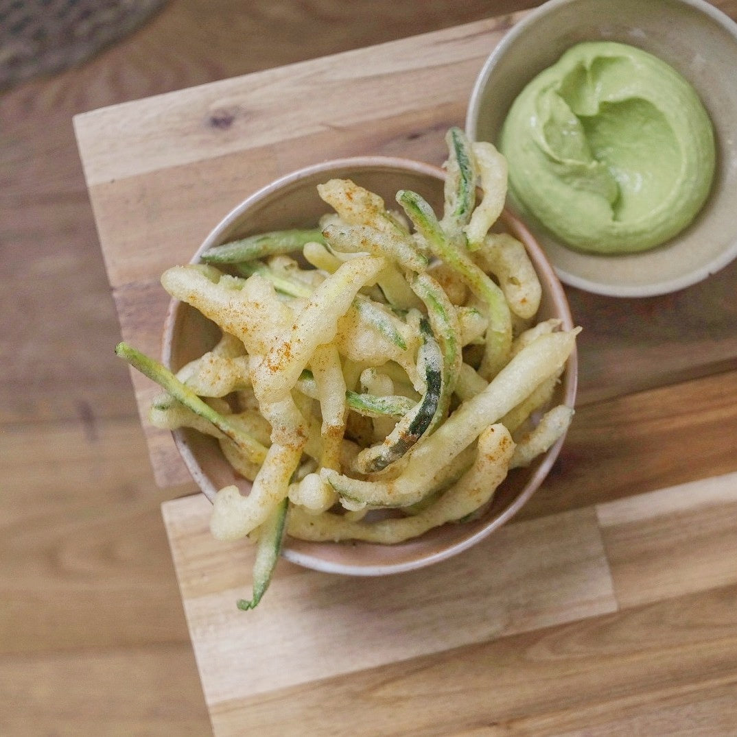 Crispy Fried Courgette