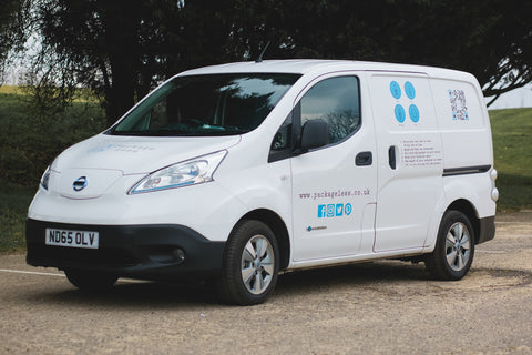 Local Free Delivery Electric Vehicle Van