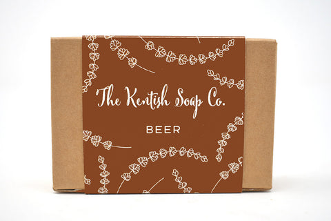 Beer Soap made with Shepherd Neame Kentish Ale