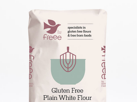 Plain White Flour Gluten Free Freee by Doves Farm