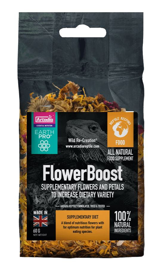 Arcadia Arcadia EarthPro Flower Boost 60g - Reptiles UK