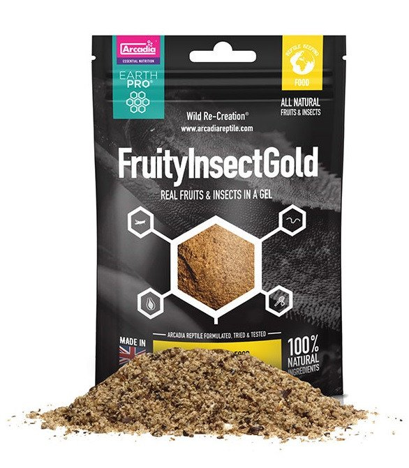 Arcadia Arcadia EarthPro FruityInsect Gold 50g - Reptiles UK