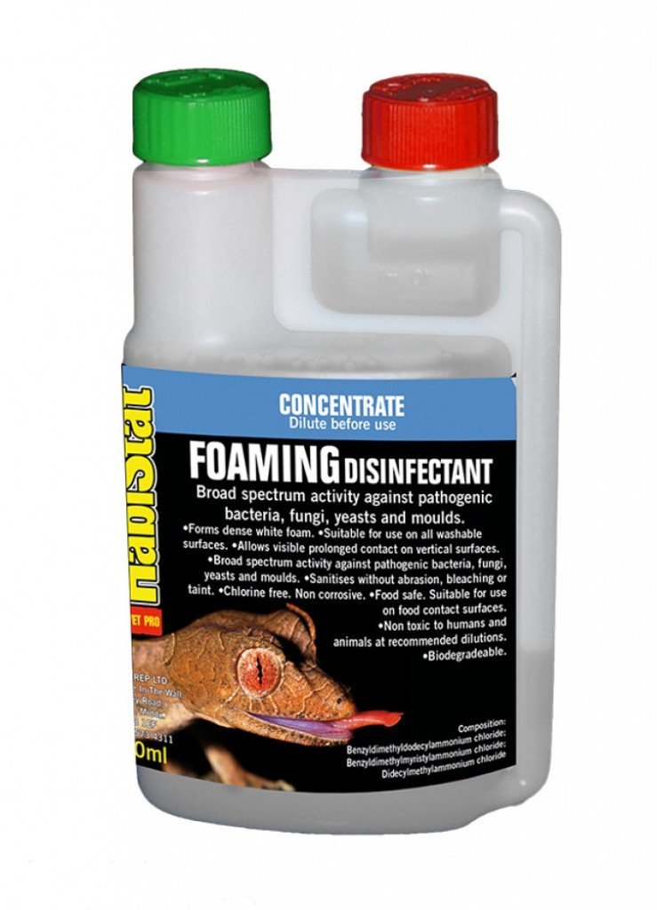 Habistat HabiStat Disinfectant Foam Cleaner Concentrate - Reptiles UK