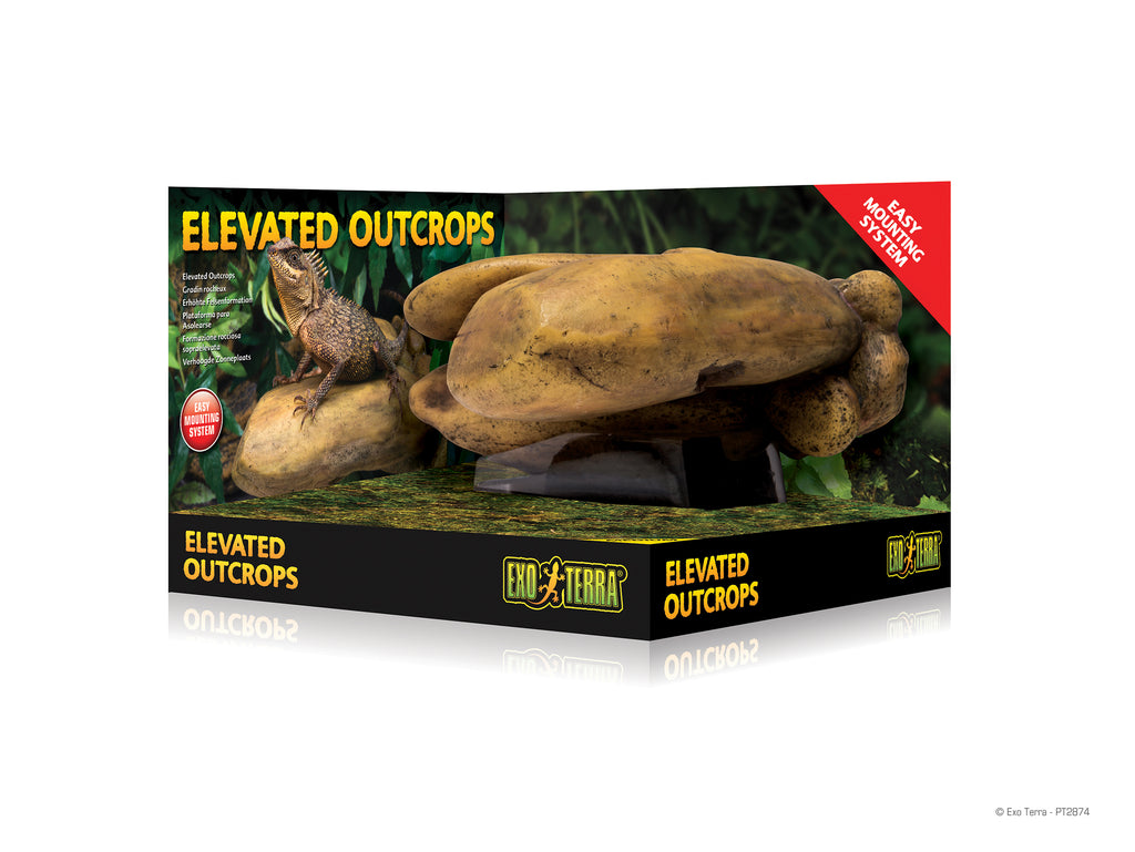 Exo Terra Elevated Outcrop - Reptiles UK