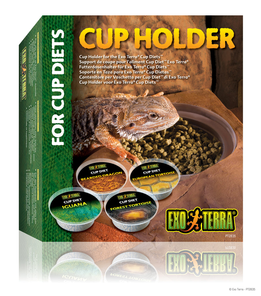 Exo Terra Cup Holder for Cup Diets - Reptiles UK
