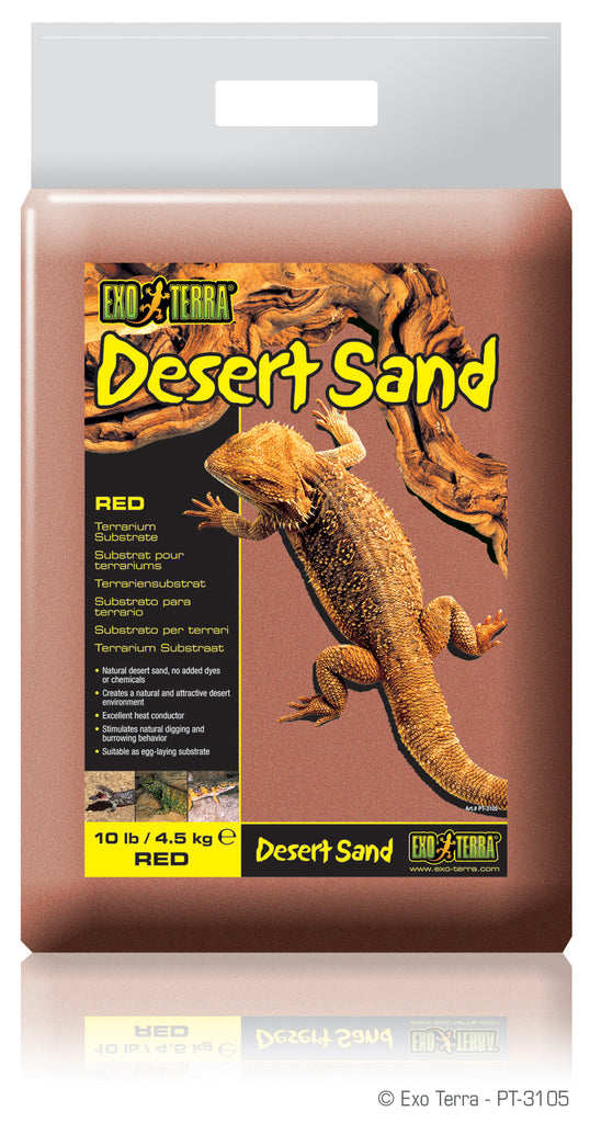 Exo Terra Desert Sand Red - Reptiles UK