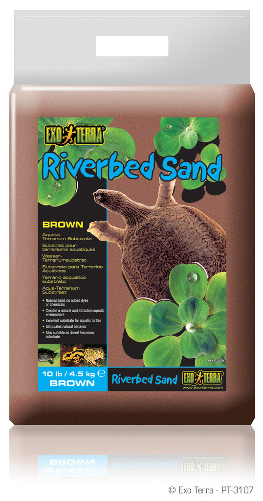 Exo Terra Riverbed Sand Brown - Reptiles UK